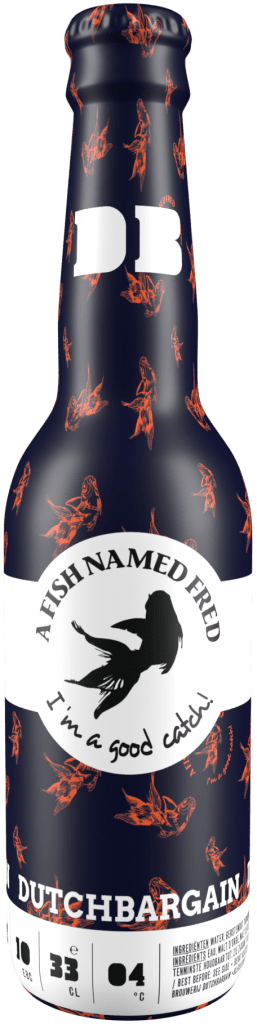 Dutch Bargain Craft Beers Fish Named Fred